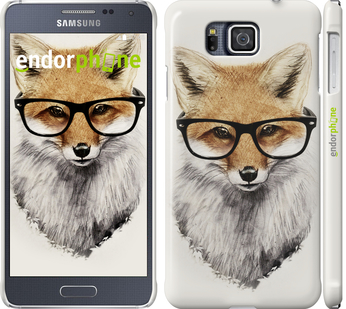3Д пластиковый глянцевый чехол для Samsung Galaxy Alpha G850F