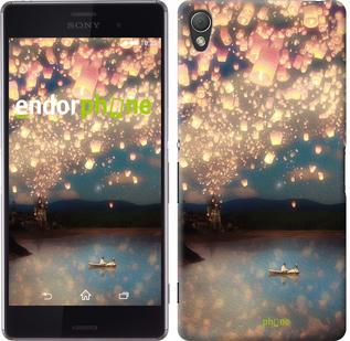чехол из 3д пластикового матового материала Sony Xperia Z3 D6603