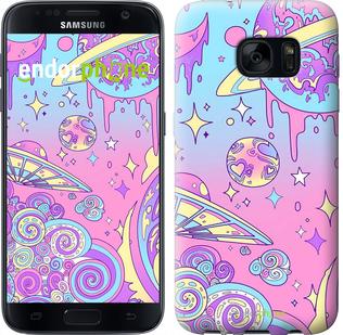 Чехлы для Samsung Galaxy S7 G930F, - печать на силиконовых чехлах для Самсунг Галакси с7 ж930ф