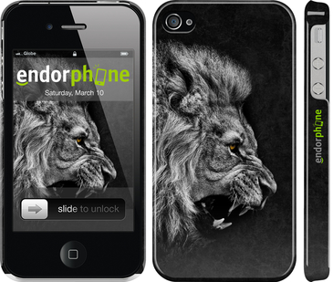 3д пластиковые глянцевые чехлы для iPhone 4s