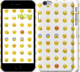 3д пластиковые глянцевые чехлы для iPhone 6 plus