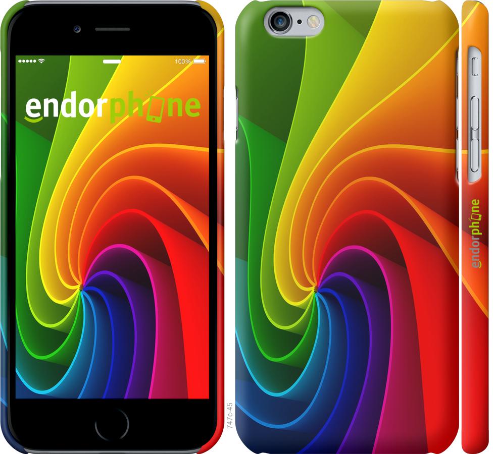 Чехлы из 3д пластикового матового материала для iPhone 6s