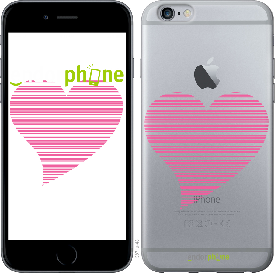 Чехлы для iPhone 6 Plus, - печать на силиконовых чехлах для айфон 6 плюс